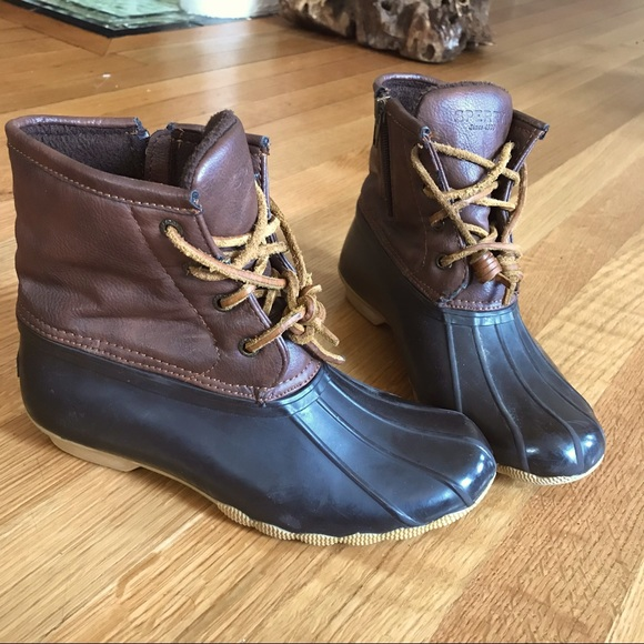 Sperry Saltwater Duck Boots (kids 3)